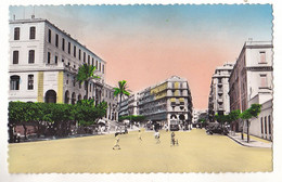 VILSEPT20-  ALGER  PLACE  JEAN MERMOZ   CPA   CIRCULEE - Alger