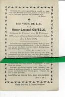 Hector Cuveele O Veurne 1877 + Veurne 1894 - Images Religieuses