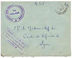 BOUCHES DU RHONE ENV 1948 MARSEILLE EN FM DEPOT DES ISOLES METROPOLITAINS CAMP DE STE MARTHE - 1921-1960: Modern Tijdperk