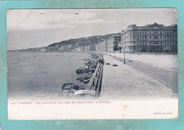 Small Old Postcard Of Grand Hotel E Posillipo,Napoli, Naples, Campania, Italy,Y138. - Napoli