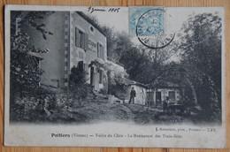 86 : Poitiers - Vallée Du Clain - Restaurant Des Trois-Ilots - Animée : Petite Animation - (n°19877) - Poitiers