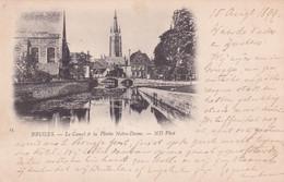 BRUGGE / KANAAL AAN BEGIJNHOF EN OLV KERK  1899  PRECURSEUR - Brugge