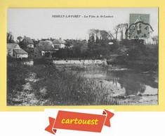 CPA NEUILLY LA FORET *** 14 *** Les Vides De SAINT LAMBERT 1924 *** Peu Commune - Other Municipalities