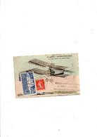 CPA SAVIGNY SUR ORGE 1909+ VIGNETTE + CACHET BUVETTE DE PORT AVIATION - Reuniones