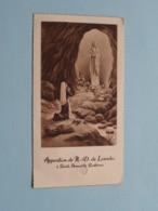 Apparition De N.D. De Lourdes à St. BERNADETTE - Gebed ( RELIKWIE - RELIQUIARIO - RELIC - RELIQUARY - RELIQUAIRE ) ! - Religion & Esotericism