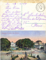 ALSACE-LORRAINE TàD SARREGUEMINES Du 13-2-19 Sans Nom Département MOSELLE - CP Envoyée En Franchise Pour PARIS - Alsace-Lorraine