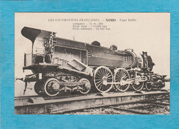 Les Locomotives Françaises. - Nord - Type Baltic. - Treni
