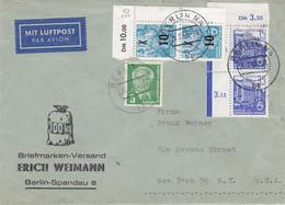 Allemagne - République Démocratique - Lettre De 1955 - Oblit Berlin - - Briefe U. Dokumente