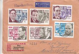Allemagne - République Démocratique - Lettre Recom De 1964 ° - Oblit Neu Brandenburg - - Briefe U. Dokumente