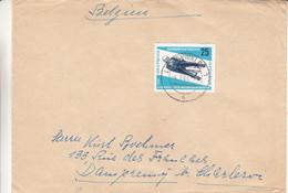 Allemagne - République Démocratique - Lettre De 1966 - Oblit Luckenwalde - Luge - Valeur 13 Euros - Briefe U. Dokumente