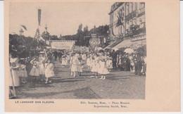 Mons Fête Des Fleurs 1905 Le Langage Des Fleurs - Mons