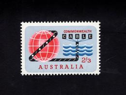 1216080895 1963 SCOTT 381   (XX)  POSTFRIS  MINT NEVER HINGED EINWANDFREI  -  CABLE AROUND WORLD AND UNDER SEA - Nuovi