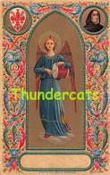 CPA EN RELIEF GAUFREE  ANGE EMBOSSED CARD ANGEL ANGELO DEL BEATO ANGELICO - Vierge Marie & Madones