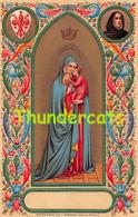 CPA EN RELIEF GAUFREE  ANGE EMBOSSED CARD ANGEL  BEATO ANGELICO MADONNA DELLA STELLA - Vierge Marie & Madones