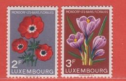1956 Luxemburg ** (sans Charn., MNH, Postfrisch)  Yv  506/7Mi  547/8 - Nuevos