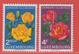 1956 Luxemburg ** (sans Charn., MNH, Postfrisch)  Yv  508/9Mi  549/50 - Nuevos