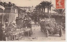 CANNES  ( 06  )  LA  BATAILLE  DE  FLEURS   - C P A  ( 21 / 3 / 102 - Cannes