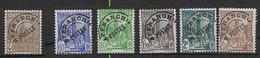 1926- 1947  Tunisie N° Préo 2 Et 4 à 8  Nf** MNH. Préoblitérés. - Ongebruikt