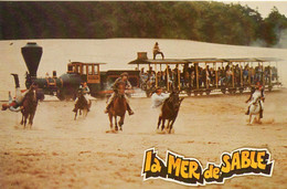 Ermenonville Très Animée La Mer De Sable Train Cow-boy Chevaux Cascade Spectacle Parc D'Attraction - Ermenonville