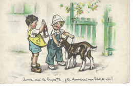 """CPA - GERMAINE BOURET - """" Donne Moi Ta Biquette ...  """" 1938 - TBE - - Bouret, Germaine"""