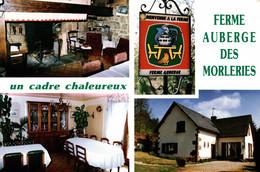 N°79083 -cpsm Ferme Auberge Des Morleries -Chirac Bellevue- - Hotels & Gaststätten