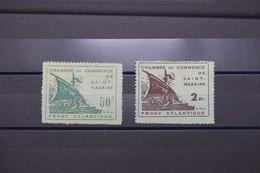 FRANCE - Timbres De Guerre De St Nazaire 8 Et 9 Dont Le 9 Signé - Neufs - L 90886 - Guerre