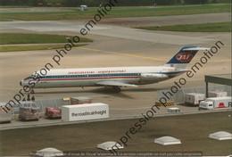 PHOTO RETIRAGE REPRINT AVION    DOUGLAS DC 9 JAT JUGOSLVENSKI AEROTRANSPORT YU-AHV - Aviazione