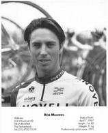 CYCLISME: CYCLISTE : FORMAT 17X21:ROB MULDERS - Ciclismo