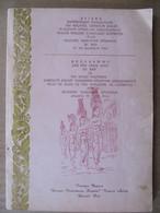 PROGRAMME VISITE NORODOM SIHANOUK ROI DU CAMBODGE A BALI - AOÛT 1964 (En Anglais Et Indonésien) - Asie