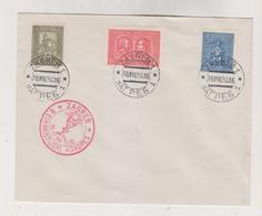 YUGOSLAVIA,1930  ZAGREB Nice Cover King Tomislav - Covers & Documents