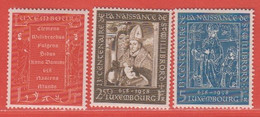 1958 Luxemburg ** (sans Charn., MNH, Postfrisch)  Yv  542/4Mi  583/5 - Nuevos