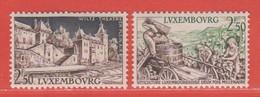 1958 Luxemburg ** (sans Charn., MNH, Postfrisch)  Yv  551/2Mi  593/4 - Nuevos