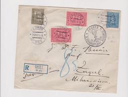 YUGOSLAVIA,1930  ZAGREB Nice Registered Cover King Tomislav - Covers & Documents