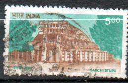 INDE Stupa Sanchi 1994 N° 1224 - Used Stamps