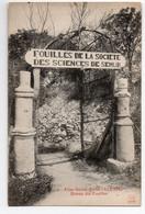 ALISE SAINTE REINE (COTE D'OR)* FOUILLES SOCIETE SCIENCES DE SEMUR * ALESIA  * Carte N° 2 * J.C. Autun - Andere Gemeenten