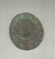 Sceau Médiéval En Bronze,à Identifier ,  Bronze Medieval Seal, 2 Scans - Bronzi