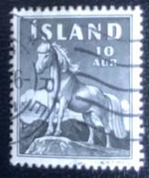 Iceland - L1/14 - (°)used - 1958 - Michel 325 - Poney's - Gebraucht