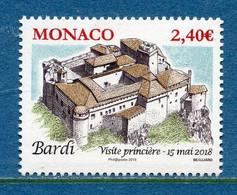 ⭐ Monaco - YT N° 3139 - Neuf Sans Charnière - 2018 ⭐ - Ungebraucht