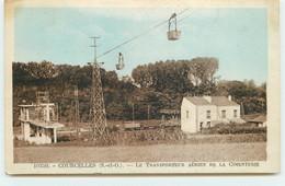 COURCELLES - Le Transporteur Aérien De La Cimenterie - Other Municipalities