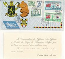 BELGIUM KOREAN WAR SOUVENIR BRUSSELS 02.07.53 - Storia Postale