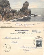 Iles Canaries. Rochers. Viaggiata 1904 - Ohne Zuordnung