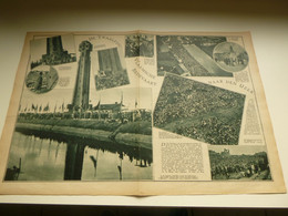 """Origineel Knipsel ( 3476 ) Uit Tijdschrift """" De Stad """" 1931 : 12° Ijzerbedevaart  Diksmuide  Karel Aubroeck R. De Rudder - Unclassified"""