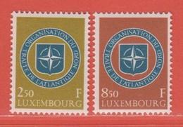 1959 Luxemburg ** (sans Charn., MNH, Postfrisch)  Yv  562/3Mi  604/5 - Nuevos