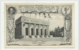 TORINO ESPOSIZIONE 1928 - IV CENTENARIO EMAN. FILIBERTO X ANNIV. DELLA VITTORIA - MOSTRA COMBATTENTI - NV FP - Non Classificati