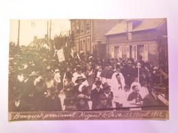 2021 - 1011  NOGENT-sur-OISE  (Oise)  :  Bouquet Provincial Du 28 Avril 1912  (Carte Photo)   XXX - Nogent Sur Oise