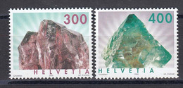 Switzerland 2003 - Mineralien, Mi-Nr. 1844/45, MNH** - Nuevos