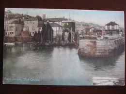 The Quay, Falmouth, Cornwall  (sailing Boats) - Falmouth