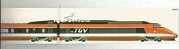 Autocollant ,  SNCF ,  TGV ,  400 X 60 Mm , 2 Scans ,  Frais Fr 1.55 E - Stickers