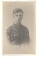 Postcard RPPC WW1 Portrait Photo Of Royal Flying Corps ? RFC Soldier ? Unposted - Guerra 1914-18