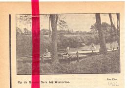 Orig. Knipsel Coupure Tijdschrift Magazine - Westerlo - De Grote Nete - 1931 - Unclassified